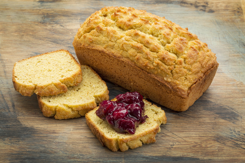 Coconut Bread with Natal Plum Jam